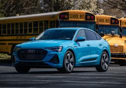 Deployment will involve a Blue Bird school bus and an Audi SUV (image credit: Stephen Averett on behalf of Audi of America)